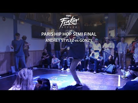 Funkin' Stylez Paris preselections - Hip hop semi final : Andrey Stylez vs Gonzy