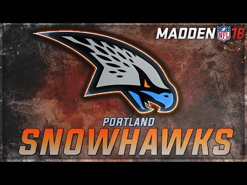 PORTLAND SNOWHAWKS RELOCATION FRANCHISE UPDATE | MADDEN 18 FRANCHISE MODE