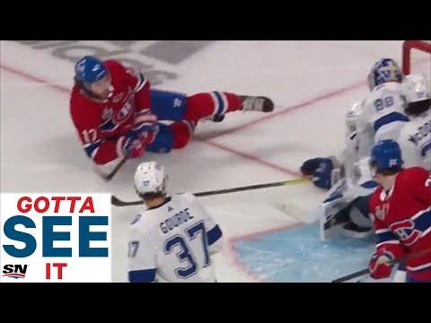 Montreal Josh Anderson diving winning OT goal