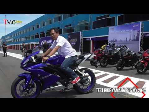 Test Ride All New Yamaha R15 MY 2017