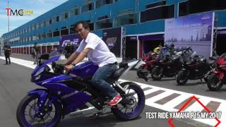 Test Ride All New Yamaha R15 MY 2017