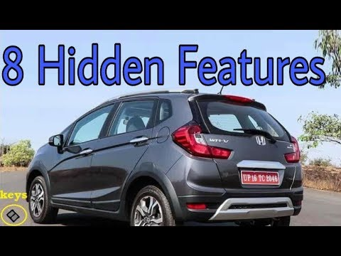Honda WRV - 8 Hidden Features You Must Know