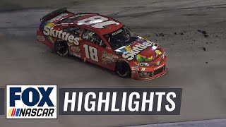 Kurt and Kyle Busch Collide, Narrowly Avoid Disaster - Bristol - 2014 NASCAR Sprint Cup