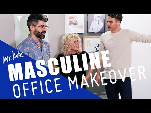 From Meh to Manly | Office Goals on the Road | Mr. Kate
