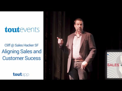 Cliff @ Sales Hacker SF - Aligning Sales and Customer Success