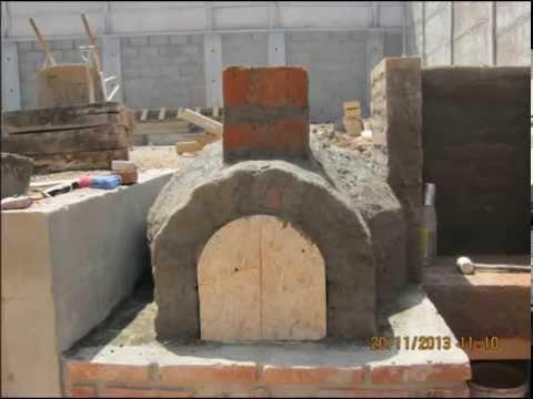 Construccion de horno a le a de 2 camaras y barbacoa youtube - Hornos a lena construccion ...