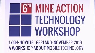 Mine Action Technology Workshop Showreel | Mobile technology