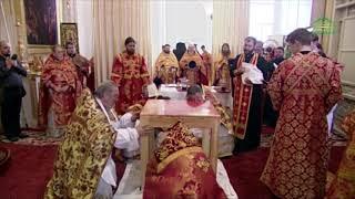 Смотреть видео Освящение Собора Святой Живоначальной Троицы, Санкт-Петербург онлайн