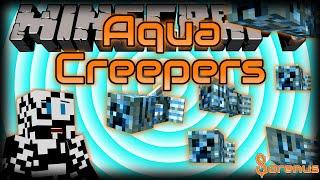 Minecraft | AQUA CREEPER MOD | Sorenus Mods 195
