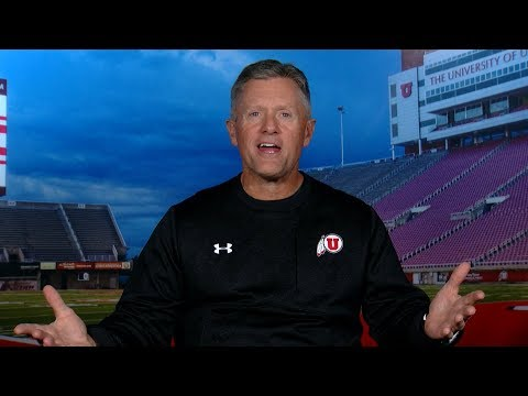 Utah football head coach Kyle Whittingham talks how Utes' 'have gotten markedly better' ahead of...