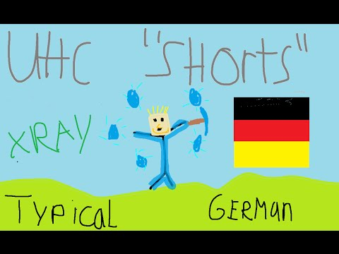 """Typical German - UHC """"Shorts"""""""