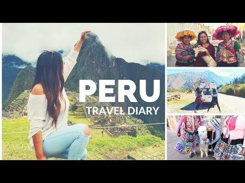 PERU TRAVEL DIARY 2017