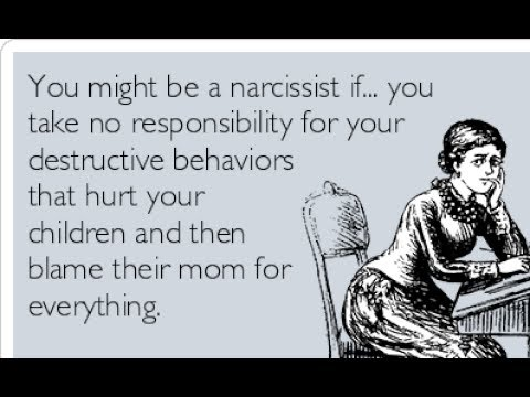 Noncustodial Narcissistic Parent / Chronicles of my