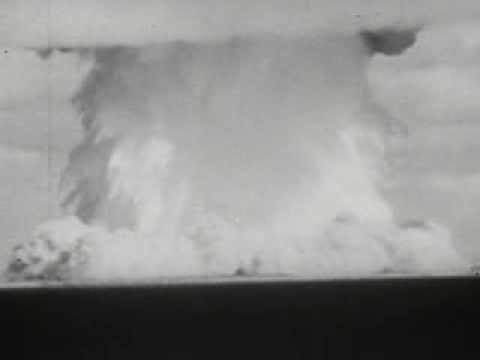 Underwater Atomic Bomb Test At Bikini Atoll (1946) - Original Footage