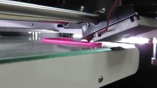 Как работает 3D принтер?(Смотрите в видео как работает 3D принтер с технологией FDM - послойное наложение нити пластика. Записали это..., 2016-01-20T16:25:54.000Z)