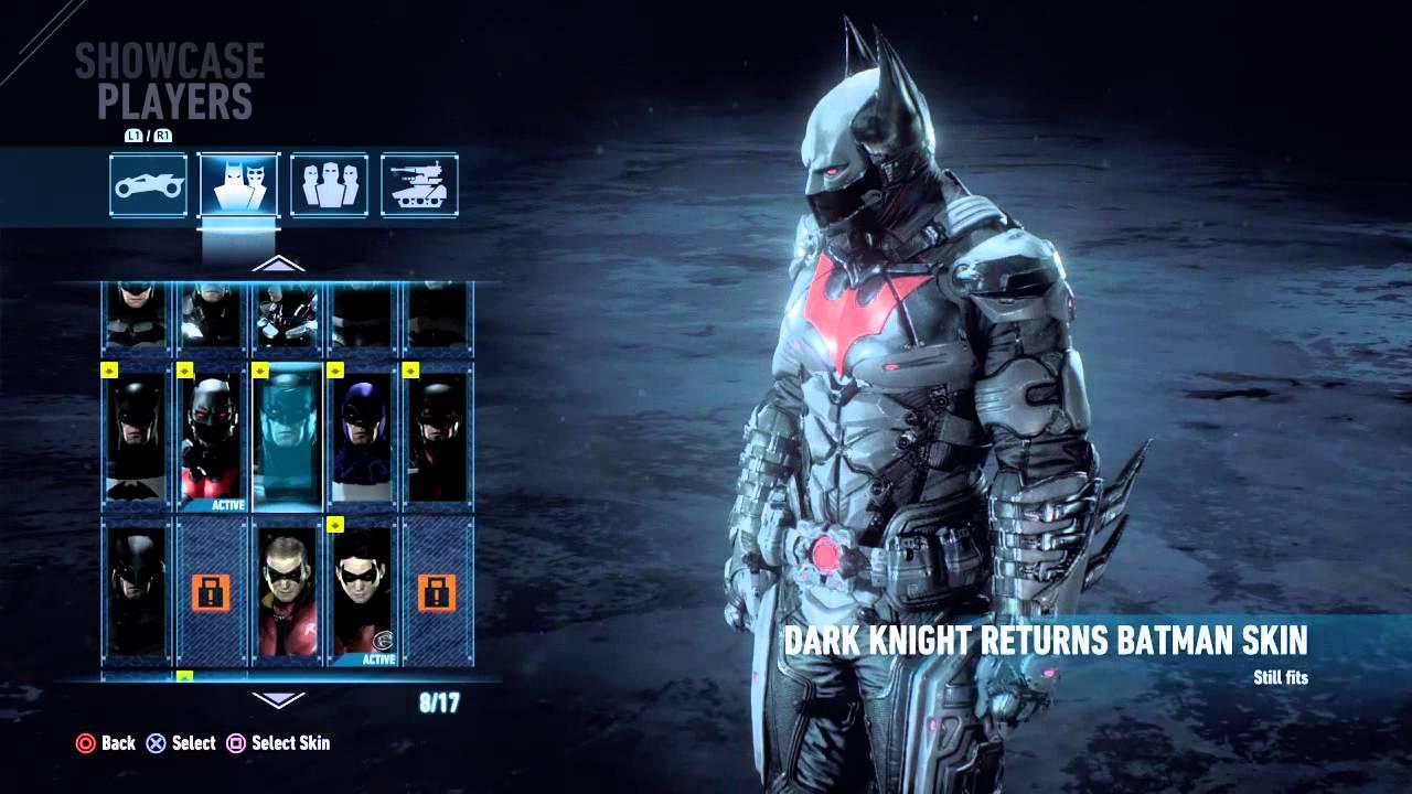 BATMAN™ ARKHAM KNIGHT PS4  ALL COSTUMES INCLUDING Batman Beyond Skin (SO Far) - YouTube & BATMAN™: ARKHAM KNIGHT PS4 : ALL COSTUMES INCLUDING Batman Beyond ...