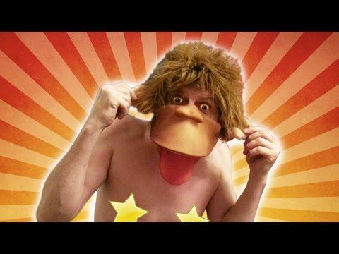Cмотреть онлайн Как сделать костюм обезьяны Маска обезьяны за пару часов, своими руками