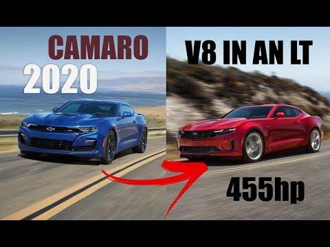 2020 Chevrolet Camaro redesign - V8 added to LT1 - YouTube