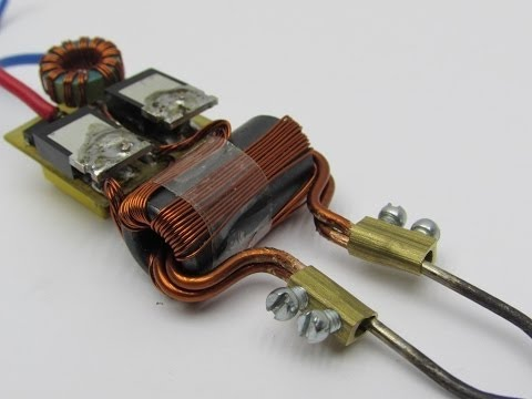 how to build an induction heater