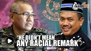 Inspector-general of police Mohamad Fuzi Harun believes that Tereng...