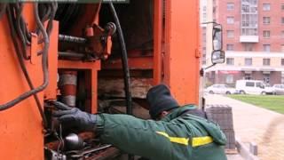 Прочистка канализации гидродинамическим методом важный этап обслуживания канализационной сети(Сотрудниками ООО