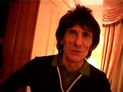 Rolling Stone Ronnie Wood & Jimmy White - Interview Liam Galvin