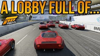 Forza 6 A Lobby Full Of... Noobs