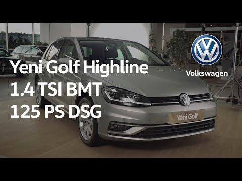 yeni golf highline 1 4 tsi bmt 125 ps dsg youtube. Black Bedroom Furniture Sets. Home Design Ideas