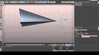 How to: simple paper plane (Cinema 4D tutorial)