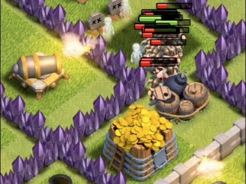 Clash of Clans Giant Bomb Choke Points Part 2