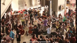 高鐵新竹站 快閃 Flash Mob: Ode to Joy /  Do You Hear the People Sing 2014-03-30