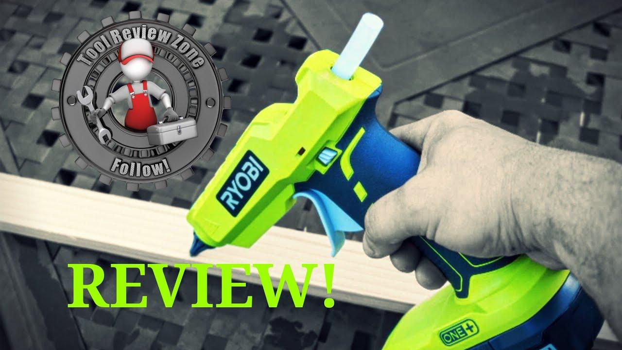 Ryobi Glue Gun Cordless Stick Adhesive Hot Trigger 18 Volt Gluing Repair Tool