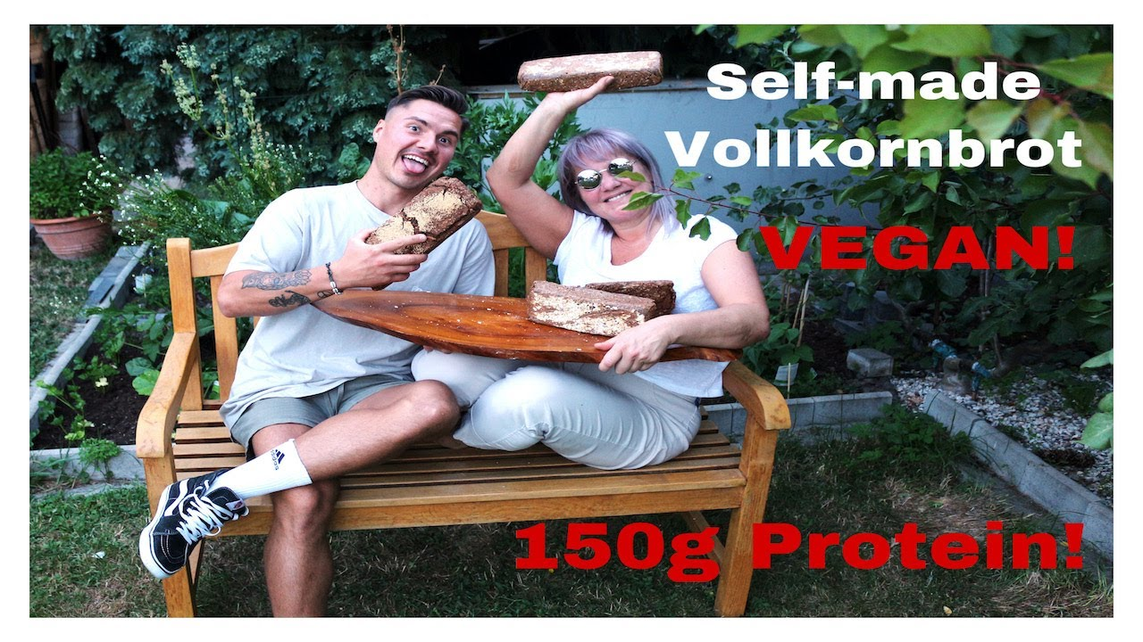 Homemade Protein-Brot / Vegan