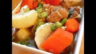 Vietnamese Pork Ribs Carrots &potato Soup