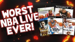 Five Worst Nba Live Games of ALL TIME! !!