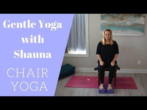Gentle Yoga: Chair Yoga