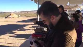 Shooting the 9mm Para Korth Sky Marshal revolver and .45 ACP Korth PRS autopistol.