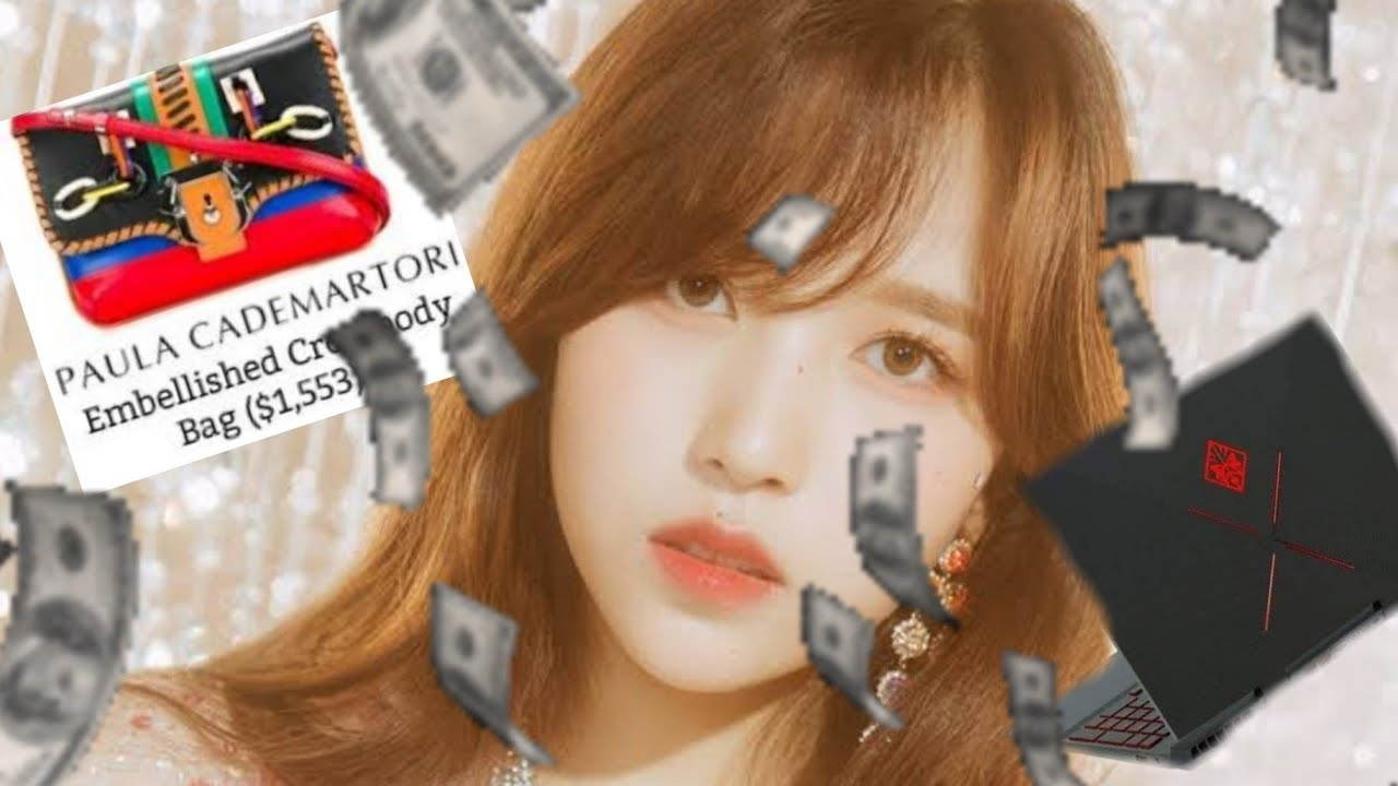 how rich is mina from twice?