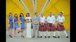 Британская свадьба. Отзыв молодожёнов с фрагментами роскошной свадьбы.