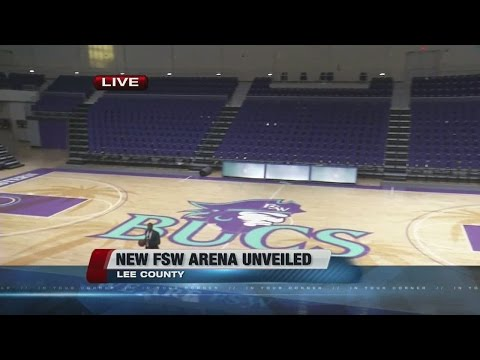 New basketball arena opens on FSW campus - 7am live shot