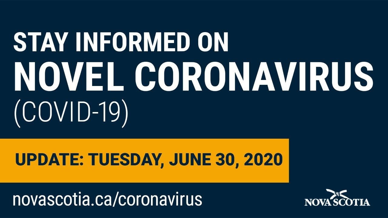 Update COVID-19 for Nova Scotians: Tuesday June 30