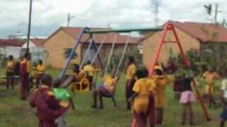 Amira Willighagen - Children of Ikageng Township Playing - 2014