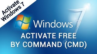 How to Activate Windows 7 Ultimate without product key - Windows 7 ultimate activate by Cmd 2018
