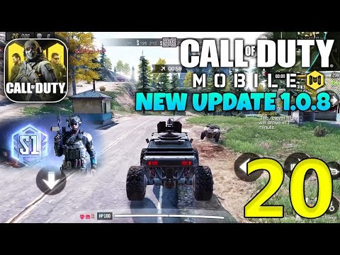 CALL OF DUTY MOBILE - New Update 1.0.8 Gameplay (Graphics & Gameplay) - Part 20