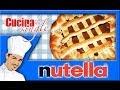 Nutella Banana and Nutella Strawberry Blueb Crepe - YouTube