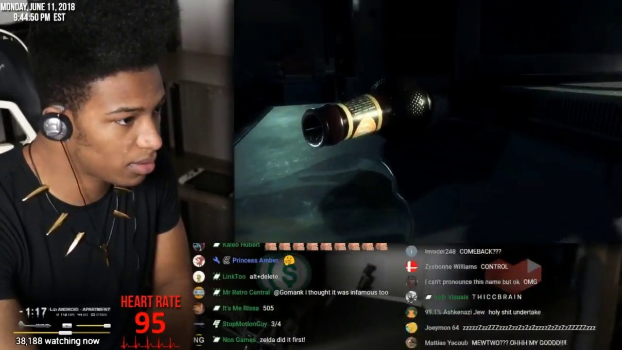Etika Reacts to Resident Evil 2 E3 2018 Trailer [Etika Stream Highlight]