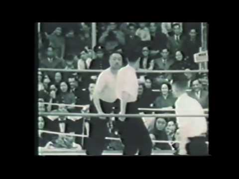 Kung Fu Match From 1954 - Tai Chi vs White Crane Kung Fu
