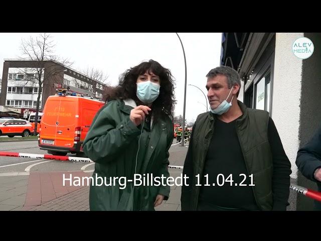 @Alev Media Günümüzün Kahramanı👏👏, Brand in Billstedt im Mehrfamilienhaus yangından sonra
