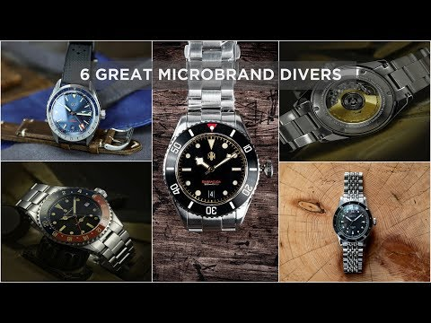 6 Great Microbrand Watches   Divers