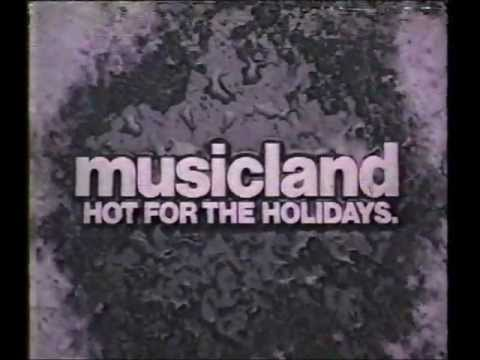 Musicland Holidays Commercial.wmv